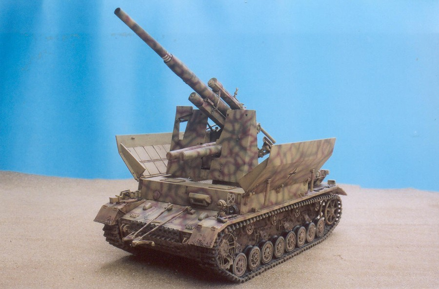Model kit reviews how to scale modeling and scale modeling products - Panzer Kampfwagen Iv With 88mm Flak 36 Finescale Modeler