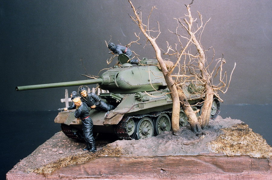Model Tank Dioramas http://www.falconbbs.com/model41a.htm