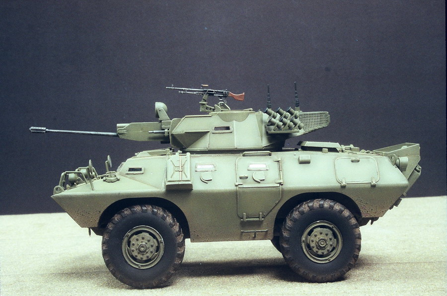 Model kit reviews how to scale modeling and scale modeling products - V 150 Commando 20mm Amp B 1 Quot Centauro Quot Finescale Modeler