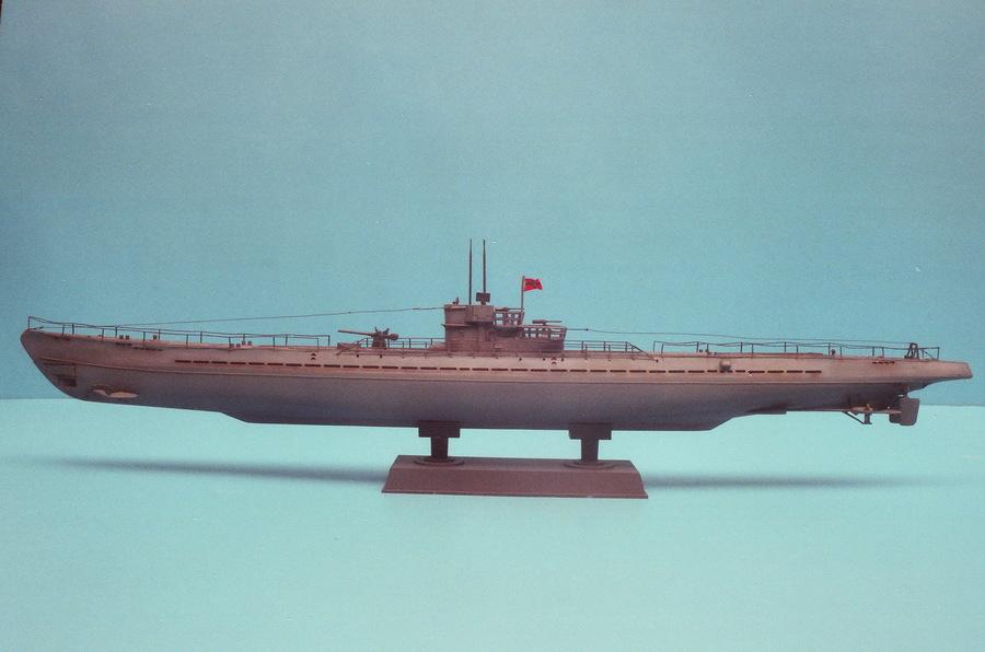 German U-Boat IX/b 1:200 - Axis History Forum