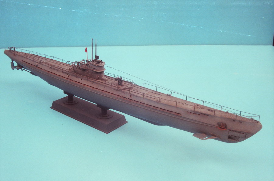 German U-Boat IX/b 1:200 - FineScale Modeler - Essential magazine ...