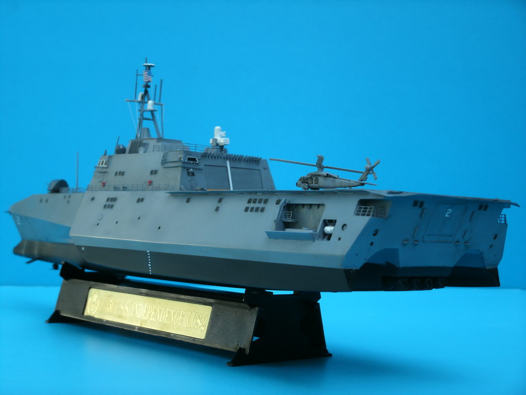 Model kit reviews how to scale modeling and scale modeling products - Uss Independence Lcs 2 1 350 Finescale Modeler